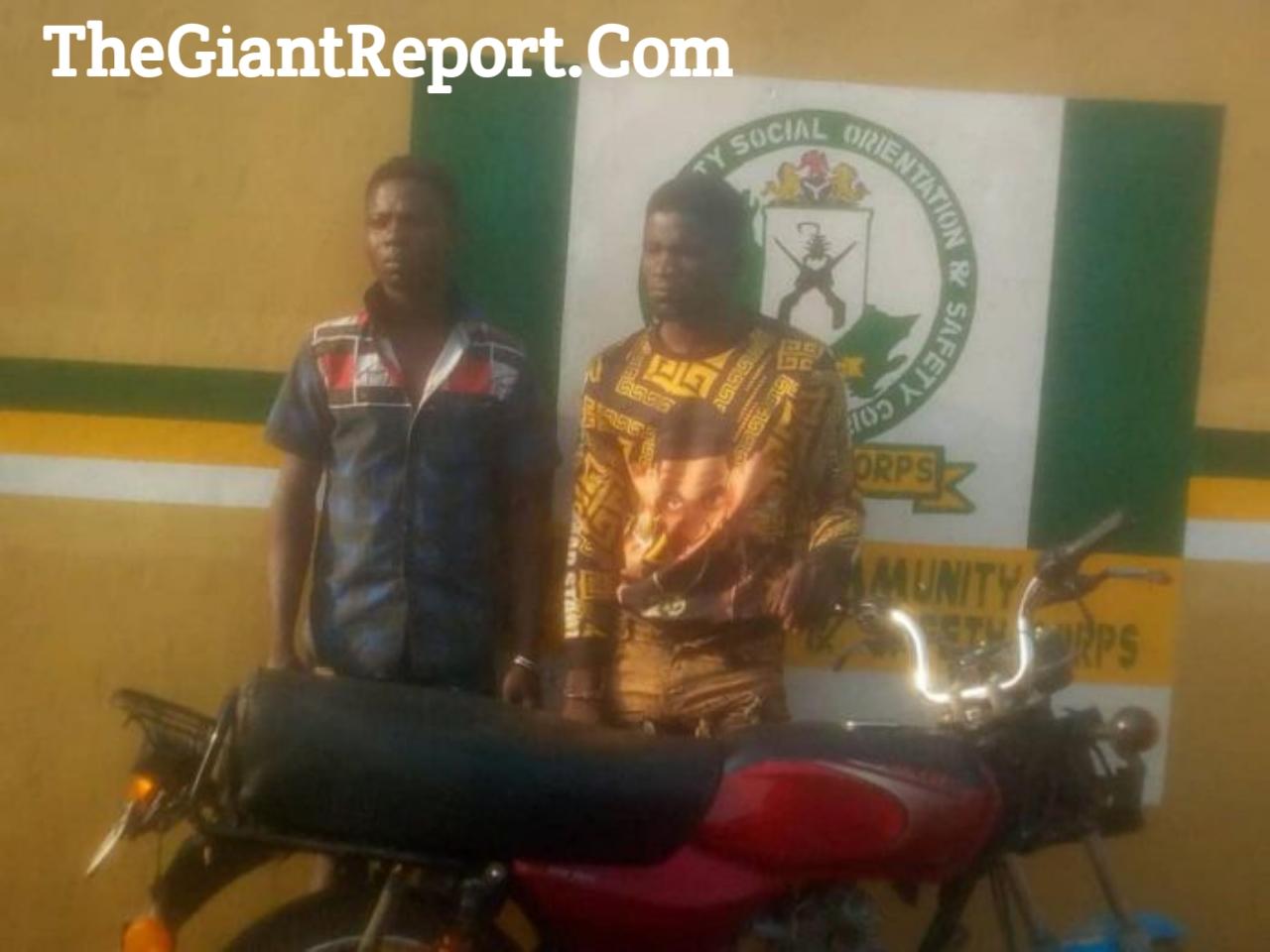 Two Ogun Suspected Armed Robbers