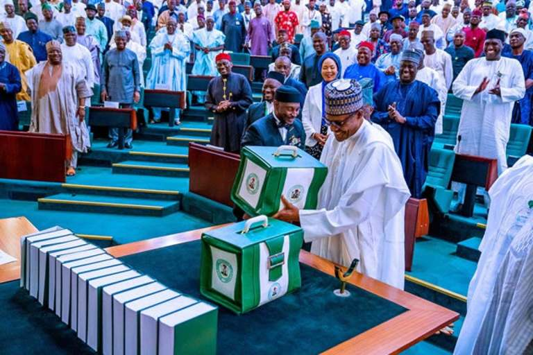 Buhari present - taraba 2020 budget