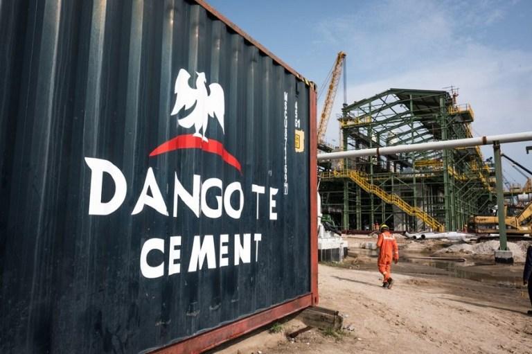 Dangote Cement board