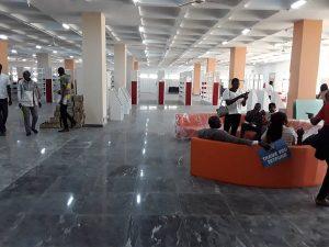 Internal view of Unijos library