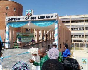 New Unijos library